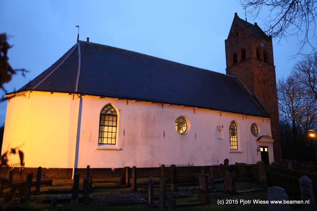 Kerk Huizem Dorp.dDe Stichting Alde Fryske Tsjerken