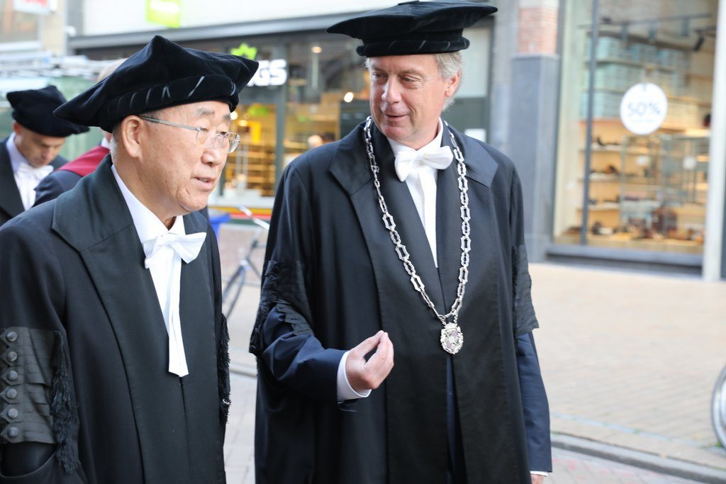 Eredoctoraat Ban Ki-moon, okt 2018 RUG